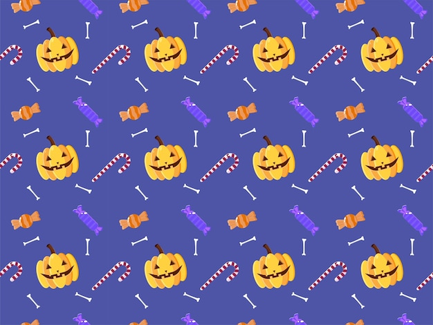 Illustrazione del modello di halloween