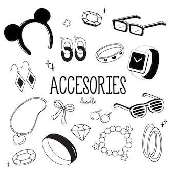 Accessori per stili di disegno a mano.