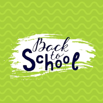 Modello di volantini disegnati a mano per prodotti scolastici doodle torna a scuola sfondo