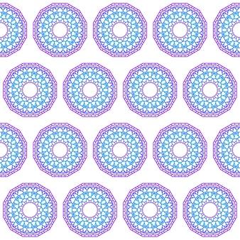 Disegnato a mano pizzo etnico astratto murale sfumato colorato mandala senza cuciture sfondo per l'uso in carta di design, invito, libro, album, poster, brochure, quaderno ecc