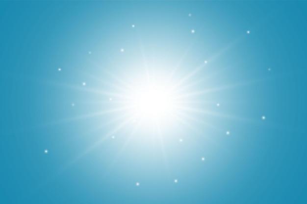 Sole disegnato a mano. modello di semplice schizzo del sole. simbolo solare. doodle giallo isolato su priorità bassa bianca. illustrazione.