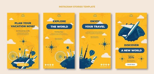 Storie di viaggio disegnate a mano
