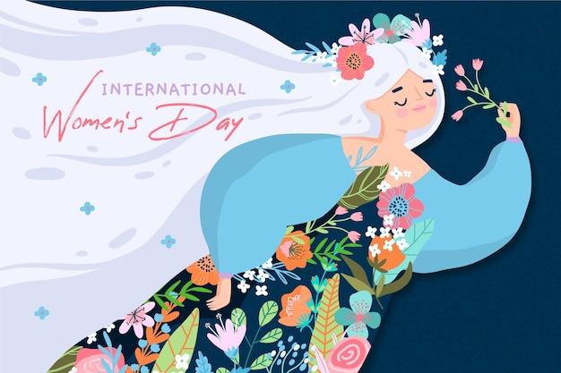 Giornata della donna disegnata a mano