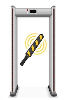 Scanner portatile per metal detector personale