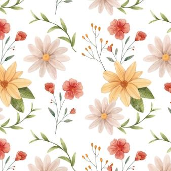 Disegno del modello botanico ad acquerello dipinto a mano