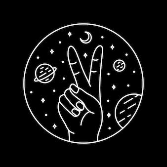 Mano nello spazio