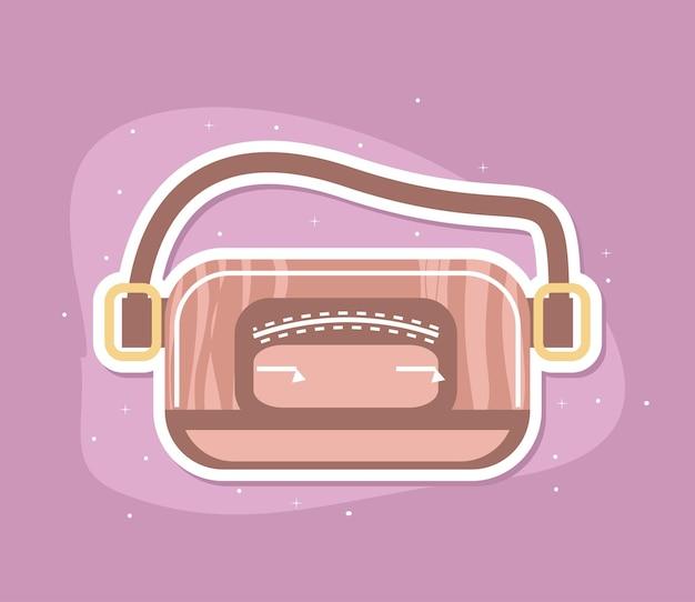 Accessorio femminile della borsa