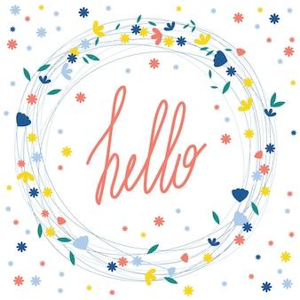 Lettere scritte a mano su bianco. citazione fatta a mano e doodle elementi disegnati a mano per magliette regalo di design, biglietti di auguri, inviti per le vacanze, libri, poster per feste, banner per negozi, volantini pubblicitari per laboratori