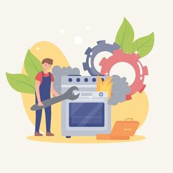 Tuttofare e riparazione elettrodomestici