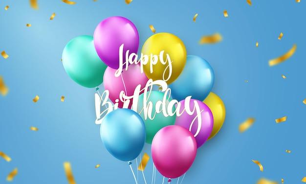 Sfondo di celebrazione di buon compleanno