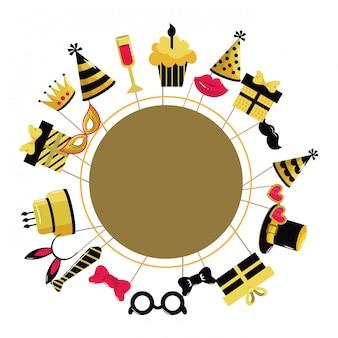 Cornice di buon compleanno