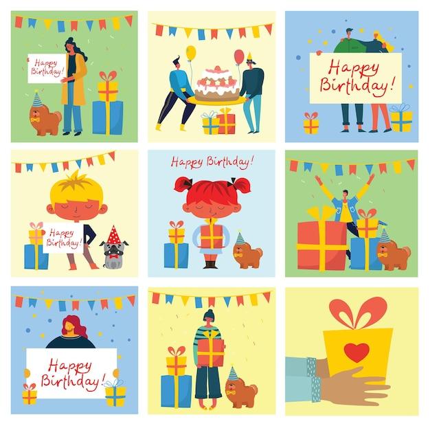Sfondi festa di buon compleanno