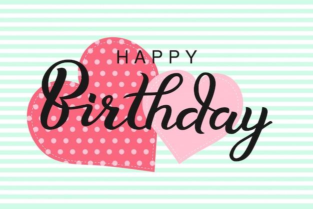 Buon compleanno tipografico