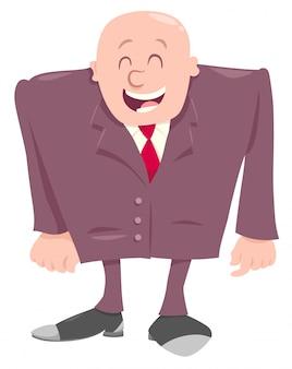 Personaggio dei cartoni animati felice capo