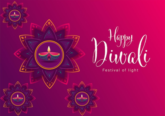 Felice diwali festival of lights