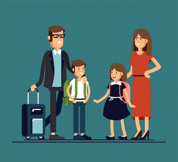 Personaggi familiari felici