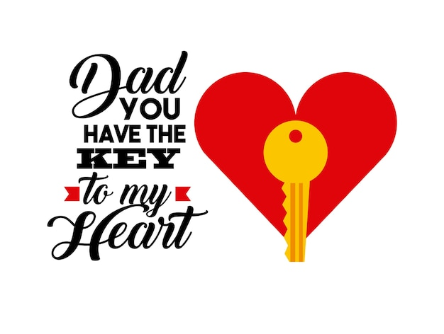 Felice giorno del padre