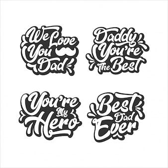 Raccolta di lettere di papà felice