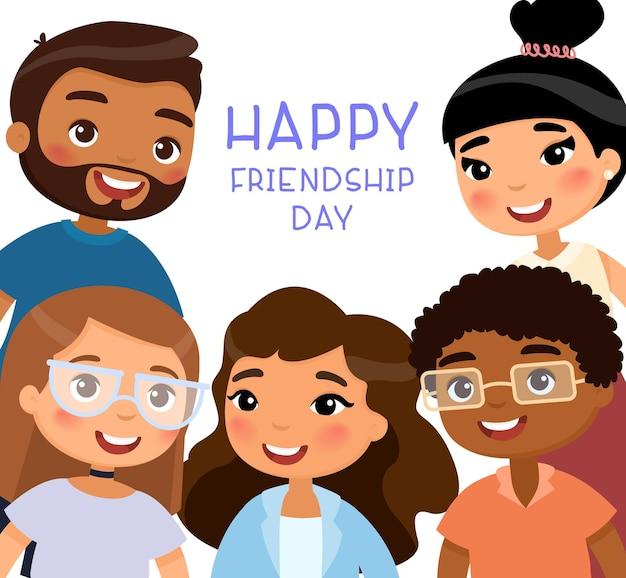 Felice giornata internazionale dell'amicizia