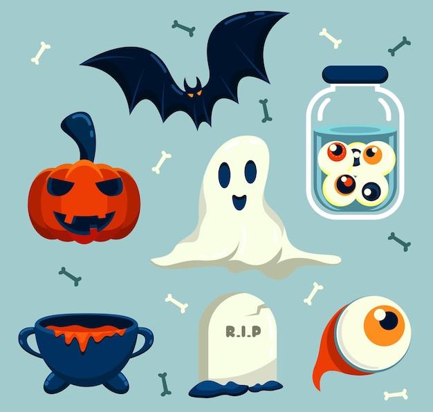 Buona risorsa di halloween per romanzo, storia e opere d'arte