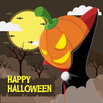 Felice festa di halloween sfondo
