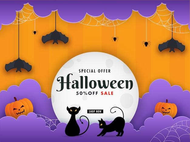 Felice concetto di halloween