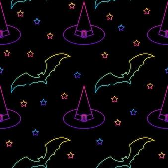 Modello senza cuciture di felice festa di halloween per carta da parati per feste di stampa tessile in tessuto di carta da imballaggio