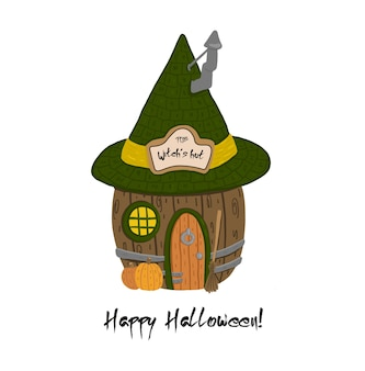 Illustrazione di halloween felice