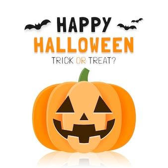 Modello di poster o banner di halloween felice