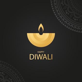 Buone vacanze diwali festival delle luci
