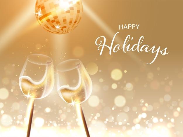 Concetto di celebrazione di buone feste