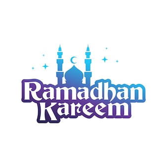 Felice sfondo vettoriale islamico per il ramadan