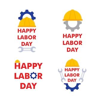 Disegno dell'illustrazione delle vacanze dei lavoratori dell'illustrazione della festa del lavoro felice