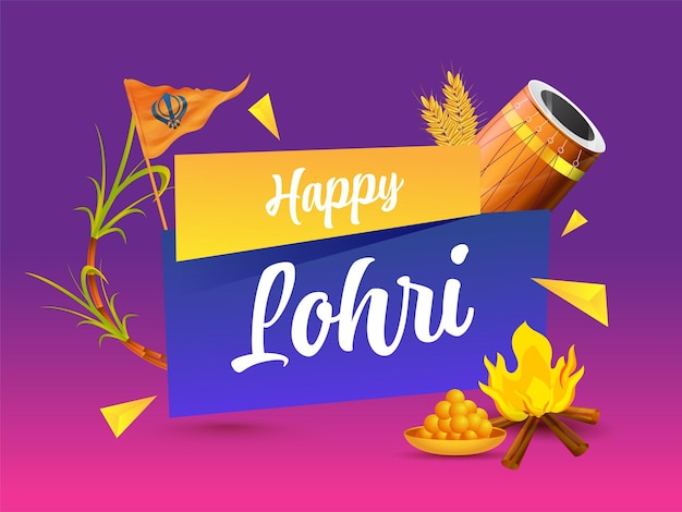 Felice lohri celebration concept
