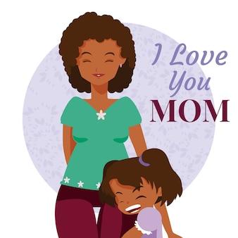 Felice giorno della madre fumetto