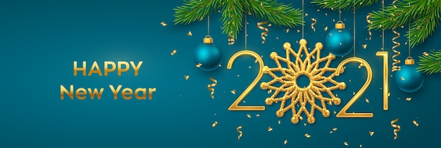 Felice anno nuovo 2021.