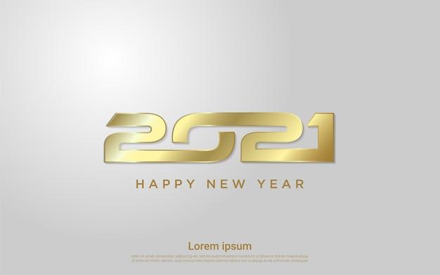 Felice anno nuovo sfondo saluto