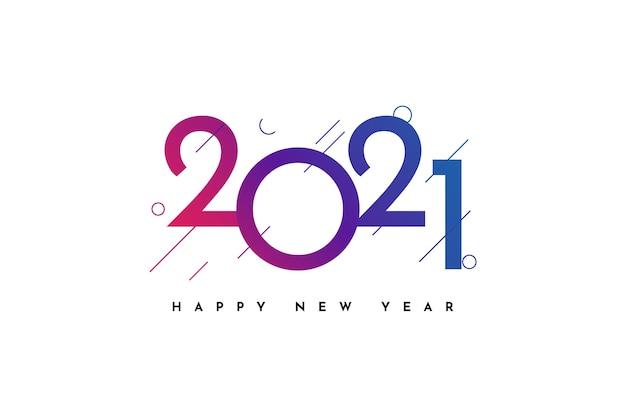 Felice anno nuovo saluto celebrazione
