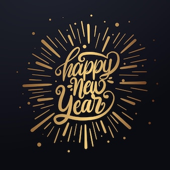 Buon anno. testo dell'iscrizione per felice anno nuovo