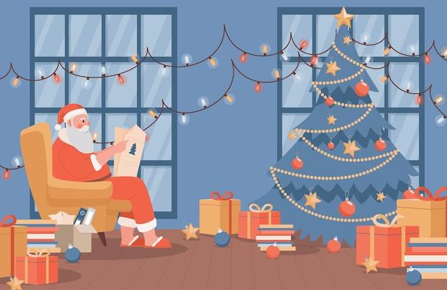 Felice anno nuovo e buon natale banner concetto.