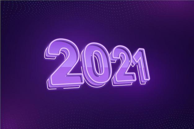 Felice anno nuovo testo bagliore design