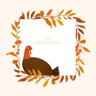 Felice giorno del ringraziamento illustrazione.