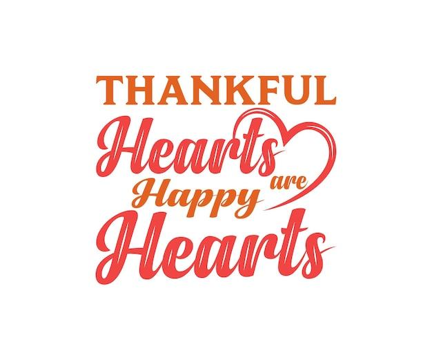 Iscrizione di vettore di felice giorno del ringraziamento