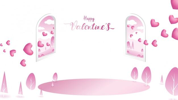 Sfondo di san valentino felice