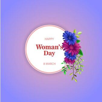 Felice giorno della donna sfondo