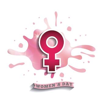 Felice giorno delle donne design