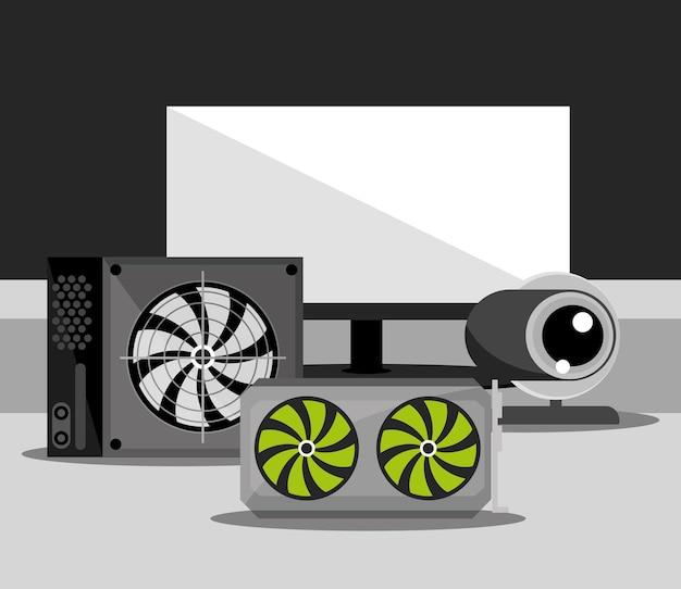 Computer di tecnologia hardware