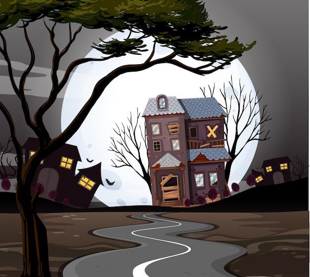 Casa stregata alla fine della strada