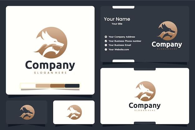 Testa di drago, ispirazione per il design del logo
