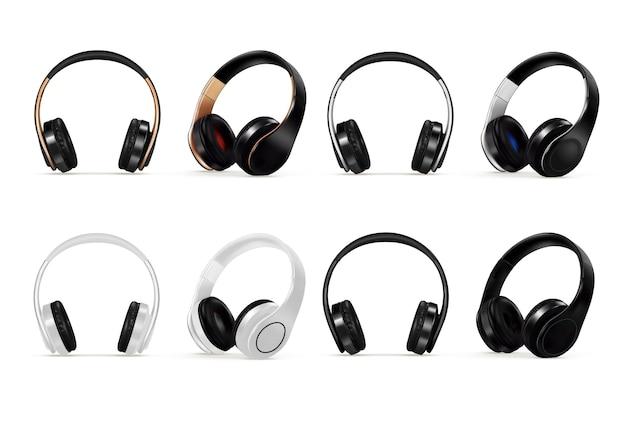 Dispositivo auricolare per ascoltare il set di suoni di musica isolato